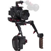 Image of Zacuto EVF Recoil Pro V2 Shoulder Rig with Dual Trigger Grips for Panasonic EVA1 Camera