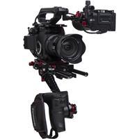 Image of Zacuto Z-Finder Recoil Pro V2 Rig for Panasonic EVA1 Camera