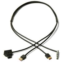 Image of Zacuto 4 Pin Lemo Compatible Power and HDMI Video Cable with Power Switch