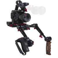 Image of Zacuto Recoil Rig with Dual Trigger Grips for Sony FS5/FS5 II Camera