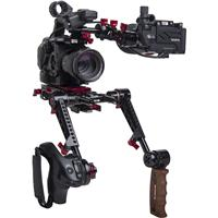 Image of Zacuto Z-Finder Recoil Rig with Dual Trigger Grips for Sony FS5/FS5 II Camera