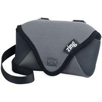 Image of Zing Deluxe, Multi-Strap Camera Accessory Belt Pouch with Shoulder Strap, Gray