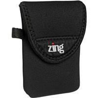 Image of Zing Small Camera/Electronics Belt Bag, Black.