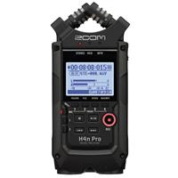 Image of Zoom H4n Pro 4-Input/4-Track Portable Handy Recorder with Onboard X/Y Mic Capsule, All Black