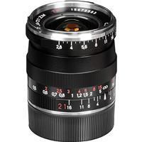 Image of Zeiss 21mm f/2.8 T* ZM Biogon Lens, for Zeiss Ikon & Leica M Mount Rangefinder Cameras, Black