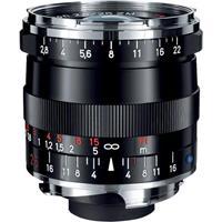 Image of Zeiss 25mm f/2.8 T* ZM Biogon Lens, for Zeiss Ikon & Leica M Mount Rangefinder Cameras, Black