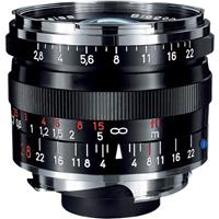Image of Zeiss 28mm f/2.8 T* ZM Biogon Lens, for Zeiss Ikon & Leica M Mount Rangefinder Cameras, Black