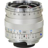 Image of Zeiss 35mm F/2 T* ZM Biogon Lens, for Zeiss Ikon & Leica M Mount Rangefinder Cameras, Silver