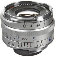 Image of Zeiss 2.8/35mm C Biogon T* ZM Series Lens for Zeiss Ikon & Leica M Mount Rangefinder Cameras, Silver