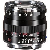 Image of Zeiss 50mm f/2.0 T* Planar, ZM Lens for Zeiss Ikon & Leica M Mount Rangefinder Cameras, Black
