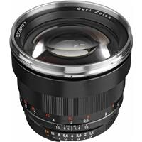Image of Zeiss 85mm f/1.4 Planar T* ZF.2 Manual Focus Telephoto Lens for the Nikon F (AI-S) Bayonet SLR System.