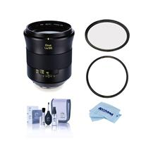 Image of Zeiss Otus 85mm f/1.4 Apo Planar ZE Manual Focusing Lens for Canon EF - Bundle With B + W 86mm XS UV MRC Nano #010M Filter, B + W 86mm XS-Pro Clear MRC Nano #007M Filter, Cleaning Kit, Cloth