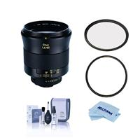 Image of Zeiss Otus 85mm f/1.4 Apo Planar ZF.2 Series Manual Focusing Lens for Nikon DSLR Cameras - Bundle With B + W 86mm XS UV MRC Nano #010M Filter, B + W 86mm XS-Pro Clear MRC Nano #007M Filter, And More