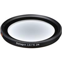 Compare Prices Of  Zeiss Replacement 72mm Center Filter for the 15mm f/2.8 ZM Series Ultra Wide Angle Distagon Lens.
