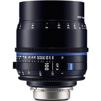 Image of Zeiss 100mm T2.1 CP.3 Compact Prime Cine Lens (Feet) CF Canon EF EOS Mount