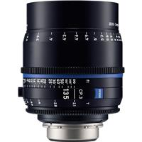 Image of Zeiss 135mm T2.1 CP.3 Compact Prime Cine Lens (Feet) CF Canon EF EOS Mount