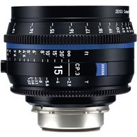 Image of Zeiss 15mm T2.9 CP.3 Compact Prime Cine Lens (Metric) Nikon F Mount