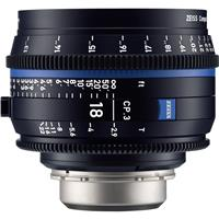 Image of Zeiss 18mm T2.9 CP.3 Compact Prime Cine Lens (Feet) Canon EF EOS Mount
