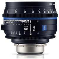 Image of Zeiss 18mm T2.9 CP.3 Compact Prime Cine Lens (Metric) with PL Bayonet Mount