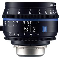 Image of Zeiss Zeiss 21mm T2.9 CP.3 Compact Prime Cine Lens (Feet) with PL Bayonet Mount
