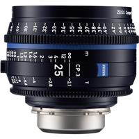 Image of Zeiss 25mm T2.1 CP.3 Compact Prime Cine Lens (Feet) with Canon EF EOS Mount