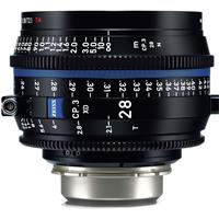 Compare Prices Of  Zeiss 28mm T2.1 CP.3 Compact Prime Cine Lens (Metric) with Nikon F Mount