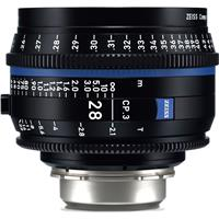 Image of Zeiss 28mm T2.1 CP.3 Compact Prime Cine Lens (Feet) with PL Bayonet Mount