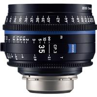 Image of Zeiss 35mm T2.1 CP.3 Compact Prime Cine Lens (Feet) with MFT (Micro Four Thirds) Mount