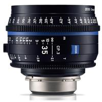 Image of Zeiss 35mm T2.1 CP.3 Compact Prime Cine Lens (Metric) with MFT (Micro Four Thirds) Mount