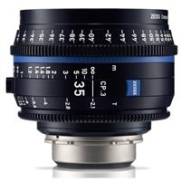 Compare Prices Of  Zeiss 35mm T2.1 CP.3 Compact Prime Cine Lens (Metric) with PL Bayonet Mount