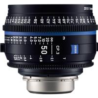 Image of Zeiss 50mm T2.1 CP.3 Compact Prime Cine Lens (Feet) with Sony E Mount