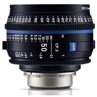 Image of Zeiss 50mm T2.1 CP.3 Compact Prime Cine Lens (Metric) with Canon EF EOS Mount