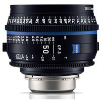 Image of Zeiss 50mm T2.1 CP.3 Compact Prime Cine Lens (Metric) with Sony E Mount