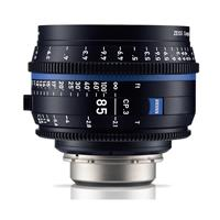 Image of Zeiss 85mm T2.1 CP.3 Compact Prime Cine Lens (Feet) with Canon EF Mount (Open Box)