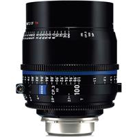 Image of Zeiss Zeiss 100mm T2.1 CP.3 XD Compact Prime Cine Lens (Feet) CF PL Bayonet Mount