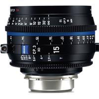 Image of Zeiss Zeiss 15mm T2.9 CP.3 XD Compact Prime Cine Lens (Feet) with PL Bayonet Mount