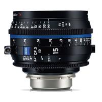 Image of Zeiss 15mm T2.9 CP.3 XD Compact Prime Cine Lens (Metric) with PL Bayonet Mount
