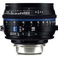 Image of Zeiss 18mm T2.9 CP.3 XD Compact Prime Cine Lens (Feet) with PL Bayonet Mount