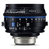 Image of Zeiss 18mm T2.9 CP.3 XD Compact Prime Cine Lens (Metric) with PL Bayonet Mount