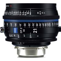 Image of Zeiss 21mm T2.9 CP.3 XD Compact Prime Cine Lens (Feet) PL Bayonet Mount