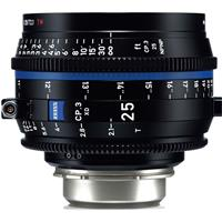 Image of Zeiss 25mm T2.1 CP.3 XD Compact Prime Cine Lens (Feet) PL Bayonet Mount