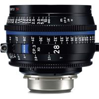 Image of Zeiss 28mm T2.1 CP.3 XD Compact Prime Cine Lens (Feet) PL Bayonet Mount
