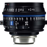 Image of Zeiss 35mm T2.1 CP.3 XD Compact Prime Cine Lens (Feet) PL Bayonet Mount