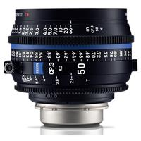 Image of Zeiss 50mm T2.1 CP.3 XD Compact Prime Cine Lens (Metric) PL Bayonet Mount