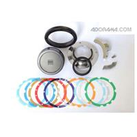 Image of Zeiss Zeiss Interchangeable Mount Sets (IMS) for 18mm and 25mm Compact Primes CP.2 Lenses - Nikon F Mount Lens