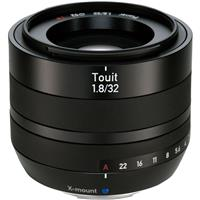 Image of Zeiss Touit 32mm f/1.8 for Fujifilm X Series Cameras