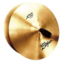 """Image of Zildjian A Concert Stage 16"""" Crash Cymbal, Medium, Pair"""