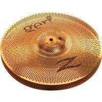 """Image of Zildjian Gen16 Buffed Bronze 14"""" HiHat Cymbal - Bottom"""