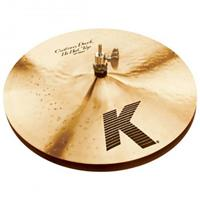 "Image of Zildjian 14"" K Custom Dark HiHat Cymbals"