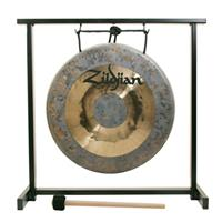 """Image of Zildjian 12"""" Traditional Gong and Tabletop Stand Set"""